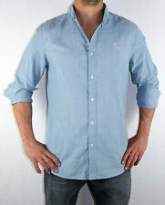 G-STAR RAW HEMD CORE BTD SHIRT LIGHT AGED BLUE GRÖßE  XL  UVP 79,90 EURO
