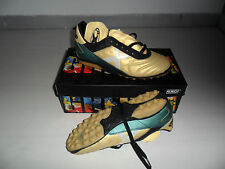 M44 MUNICH VERDE-ORO MUNDIAL 39 SCARPE CALCETTO OUTDOOR TF FUTSAL BOOT SCARPINI