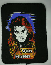 VAN HALEN Vtg 1980`s Printed Patch/écusson/aufnäher/parche not shirt lp cd badge