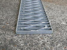 Trench Stormwater Drain Grate Galvanised Gal HDuty  230x25 New per lineal meter