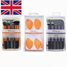 3 Sets Real Techniques Makeup Brushes Cosmetic Core Collection Eye shadow Tools