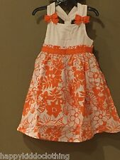 Gymboree NWT Tropical Bloom size 4 kid girl new floral dress