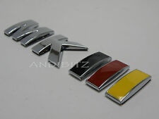 VW VOLKSWAGEN GOLF GERMAN MK3 GERMANY FLAG COLOURS RETRO CLASSIC CAR CHROME RED