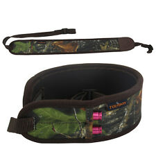 Tourbon Rifle Sling Ammo Belt Hunting Gun Shoulder Strap Carry Cartridges Padded