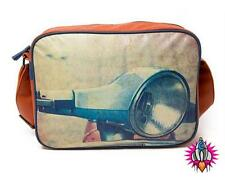 PLAN B RETRO VINTAGE STYLE SCOOTER VESPA MOD SHOULDER MESSENGER SCHOOL BAG BNWT