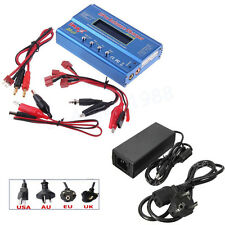 iMAX B6 LCD Screen Digital RC Lipo NiMh Battery Balance Charger + 12V 5A Adapter