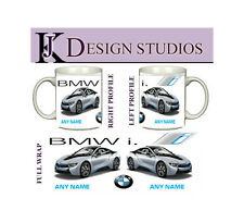 BMW i8  Personalised Fan Mug