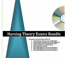 Excelsior College Nursing Exams Study Guides & Audio Review Bundle