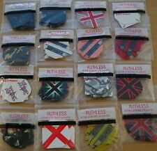 "10 Sets (10X3) ""Assorted"" R4X Ruthless Extra Strong Dart Flights"