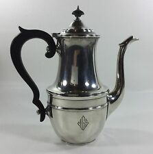 1933 Antique Gorham Sterling Silver Coffee Pot - 1 5/8 Pint - Pattern 43111