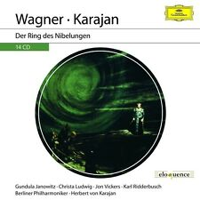 KARAJAN -WAGNER: DER RING DES NIBELUNGEN (ELOQUENCE)  14 CD NEW+