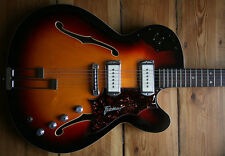 Extremely rare 1969 Framus Sorento 6 Thinline Electric una pieza única one of a Kind