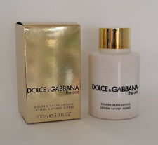 The One D&G GOLDEN SATIN LOTION By Dolce & Gabbana for Women 3.3 oz NEW IN BOX