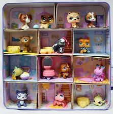 Littlest Pet Shop Collectors Edition Tin 2006 w/ 13 Pet Figures + Accessories