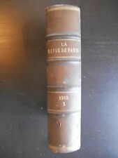 """""""La revue de Paris"""" 1903 Tome 2 relié Mars-Avril"""