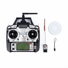 FLYSKY FS-T6 2.4G 6CH RC Airplanes Remote Control Radio Transmitter Receiver