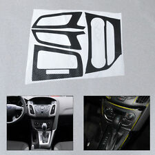 Carbon Fiber Sticker Car Center Console Decal For 2012-2013 Ford Focus 3 MK3 AT