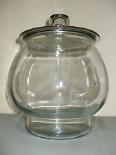 Large Footed Round Glass Apothecary Jar Terrarium!