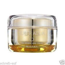 MISSHA Super Aqua Cell Renew Snail Cream, Schnecken Creme Bestseller Hauterneuer
