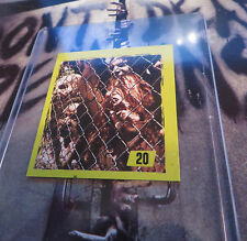 2014 THE WALKING DEAD TRADING STICKER HORROR ZOMBIE TV SERIES ZOMBIES  #20 FREE*