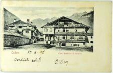 Cartolina Formato Piccolo - Cadore - Case Rustiche Di Calalzo Viaggiata
