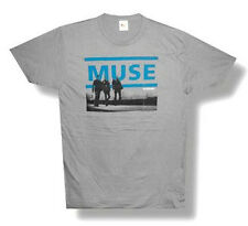 "MUSE - ""RESISTANCE""  GREY T-SHIRT - NEW ADULT X-LARGE XL"