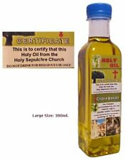 300ml Real certificated blessed Anointing oil from holy sepulchre in Jerusalem