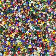 Czech Glass Seed Bead Color Mix One Ounce (1oz) pack Bead Size: 11/0