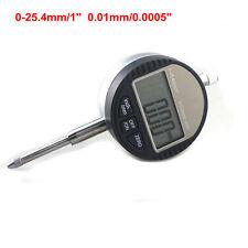 Micrometer 25.4mm 1'' 0.01mm Digital Micrometro Dial Indicator M2.5 Thread LCD