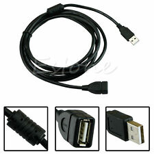USB 2.0 A MALE to A FEMALE Extension Cable Cord Extender For PC Laptop 10FT/3M