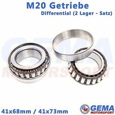 Differential Lager Satz M20 Getriebe Opel Kegelrollenlager 41x68mm 41x73mm 41mm