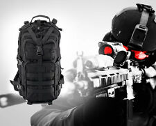 Outdoor Sports Tactical Bag Military Backpack Rucksacks for Camping Hiking Black