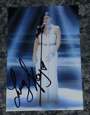 LUCY KAY- BRITAINS GOT TALENT   -POSTCARD PHOTO SIGNED