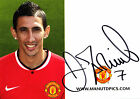 Angel Di Maria Signed Official Manchester United Autograph Club Card 2014/15