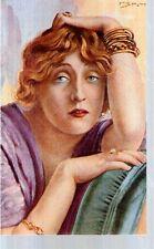 Ripr. Cartolina Cultura Spettacolo 1917  Lyda Borelli Spotti
