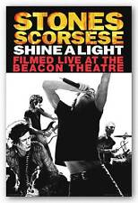 ROCK MUSIC POSTER Rolling Stones Shine A Light