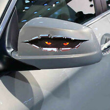 3D Funny Peeking Eye Decor Vinyl Sticker Car Body Mirror Door Wild Beast Decals