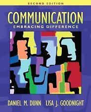 Communication: Embracing Difference (2nd Edition) (MyCommunicationKit Series)
