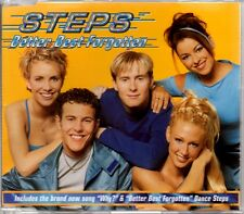 STEPS - BETTER BEST FORGOTTEN - 3 TRACK 1999 CD SINGLE
