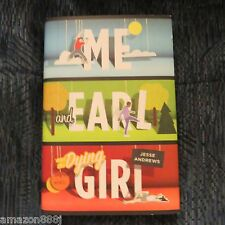 SIGNED BY JESSE ANDREWS Me and Earl and the Dying Girl 2012 HC+BONUS*HIT MOVIE