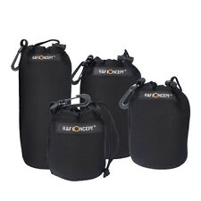 Lens Pouch Bag Soft Neoprene 4 Pcs Altura for SLR Camera Canon Nikon Sony Pentax