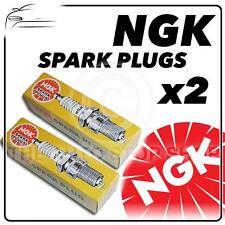 2x Ngk Spark Plugs parte número br8es-11 Stock No. 7986 Nuevo Genuino Ngk Bujía