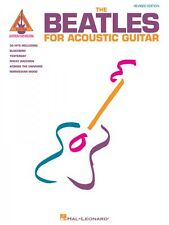 The Beatles for Acoustic Guitar Revised Edition Sheet Music Guitar Tab 000694832