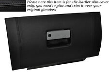 BLACK STITCH GLOVE BOX LID LEATHER SKIN COVER FITS FORD MUSTANG 2005-2009