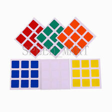 1Set 3x3x3 Replacement Stickers for Dayan Zhanchi & Guhong Speed Rubiks Cube PVC