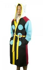 Mighty Thor Hooded Character Robe with Belt- Size Sm/Med- FREE S&H