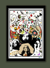 LED ZEPPELIN III PROMO POSTER . LARGE A2 (60X40CM) PRINT