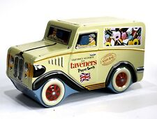 TAVENERS LIQUORICE ALLSORTS TINCLASSIC DELIVERY VAN SHAPED EMBOSSED CONTAINER