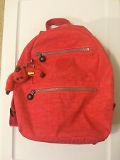Kipling Backpack (Discontinued) - Vibrant Pink - Laptop Backpack- Mint Condition