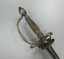 Superb French German European Small Court Sword Rapier Silver ???